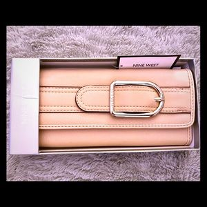 Nine West ~ New with tags ~ tan wallet